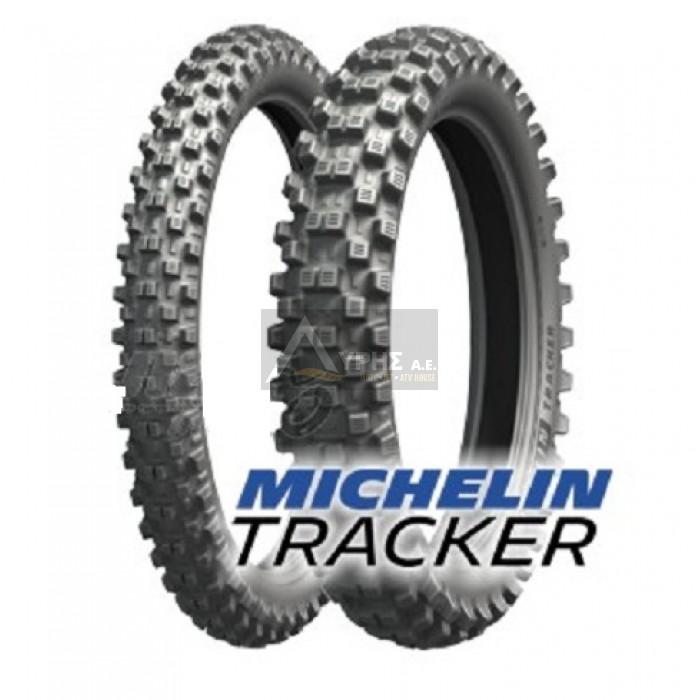 Tyres Michelin Tracker moto 100 100-18 59 R TT for motorbike