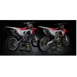 FMF FACTORY 4.1 RCT + POWERBOMB SYSTEM ALUMINUM & STAINLESS STEEL NATURAL ΕΞΑΤΜΙΣΗ ΓΙΑ HONDA CRF 250 R 14-17, 041528